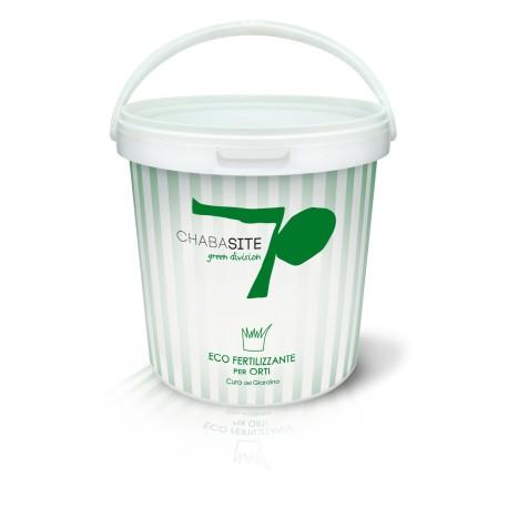 Eco fertilizzante per orti (gr. 0,7-2mm) - 10L